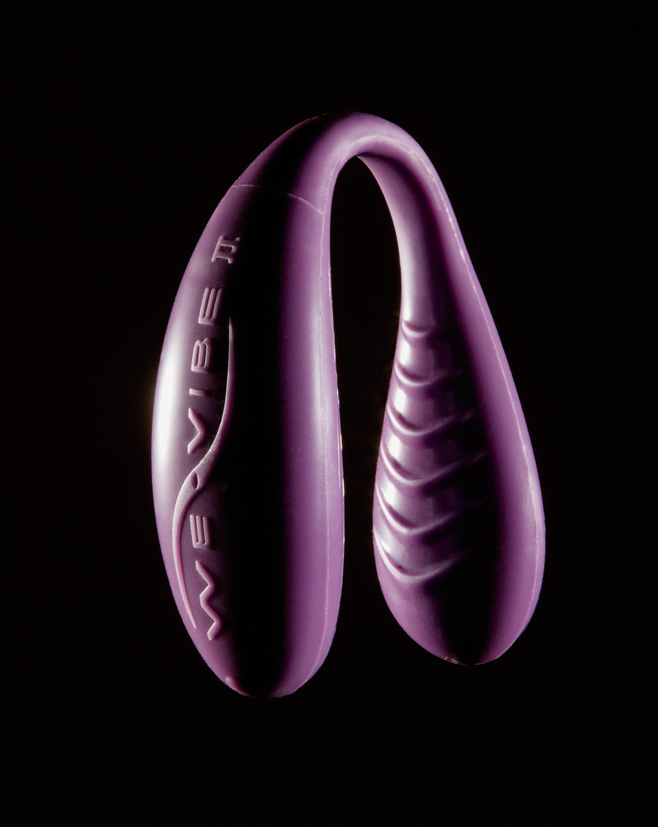 photograph by Constance and Eric of the we vibe II sex toy