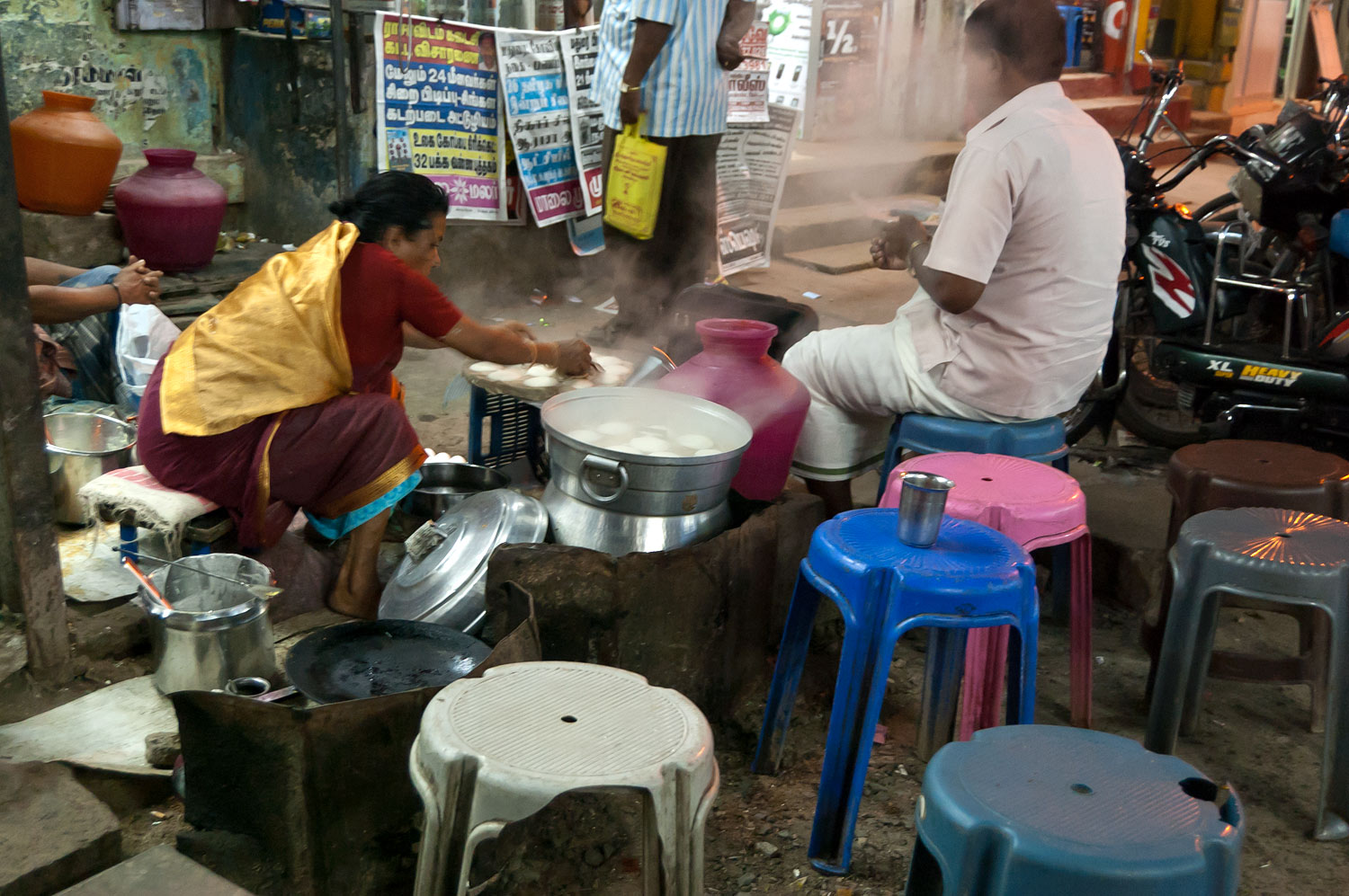 A Pavement Eatery,Madurai