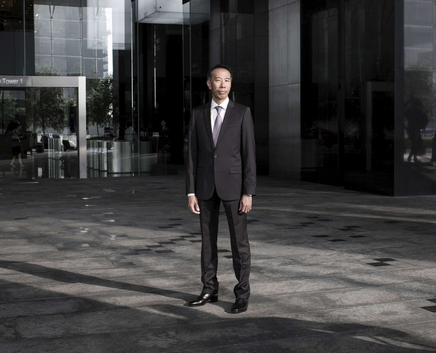 Fook Sun Ng in his office in Wirecard head quarter in Singapore, 16, March 2015