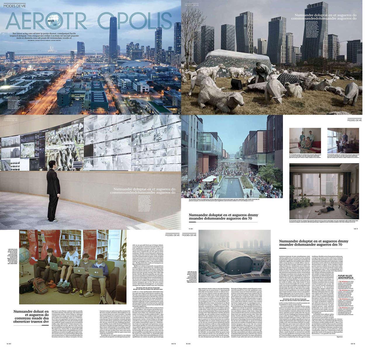 Aerotropolis for Geo