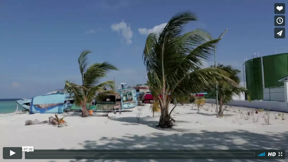 CLIMATE CHANGE MALDIVES