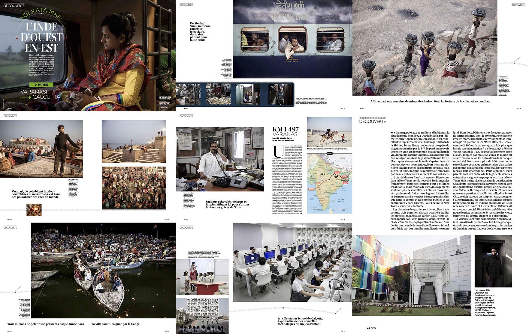 Kolkata Mail for Geo France