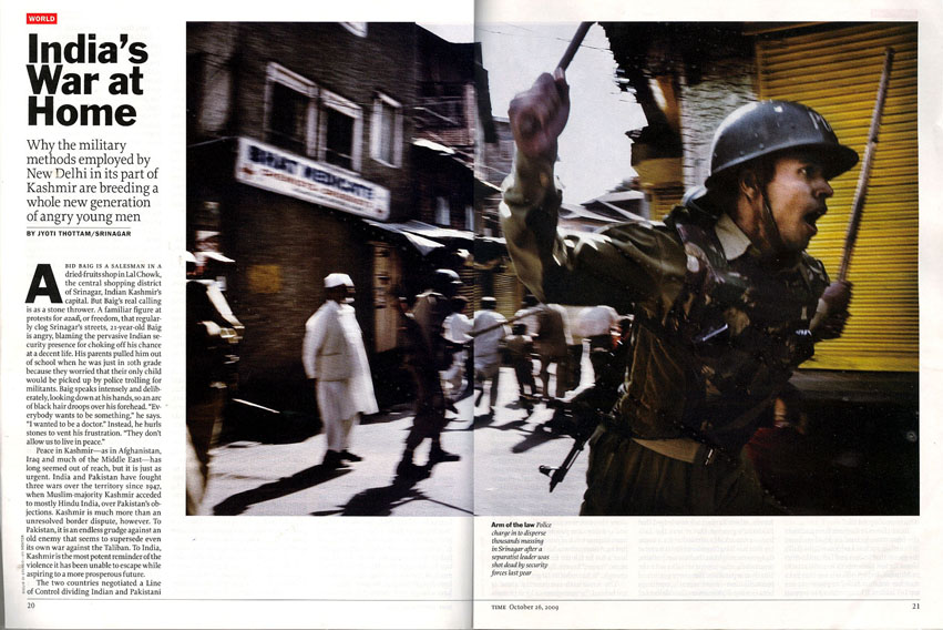 Kashmir for TIME Magazine