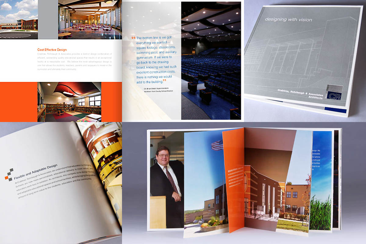 Sales brochure. Crabtree, Rohrbaugh & Associates Architects.