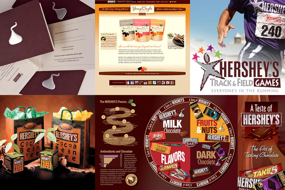 All sorts of projects for The Hershey Company.