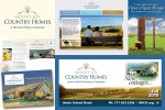 Identity and real estate sales support for Mount Joy Country Homes independent-living cottages.