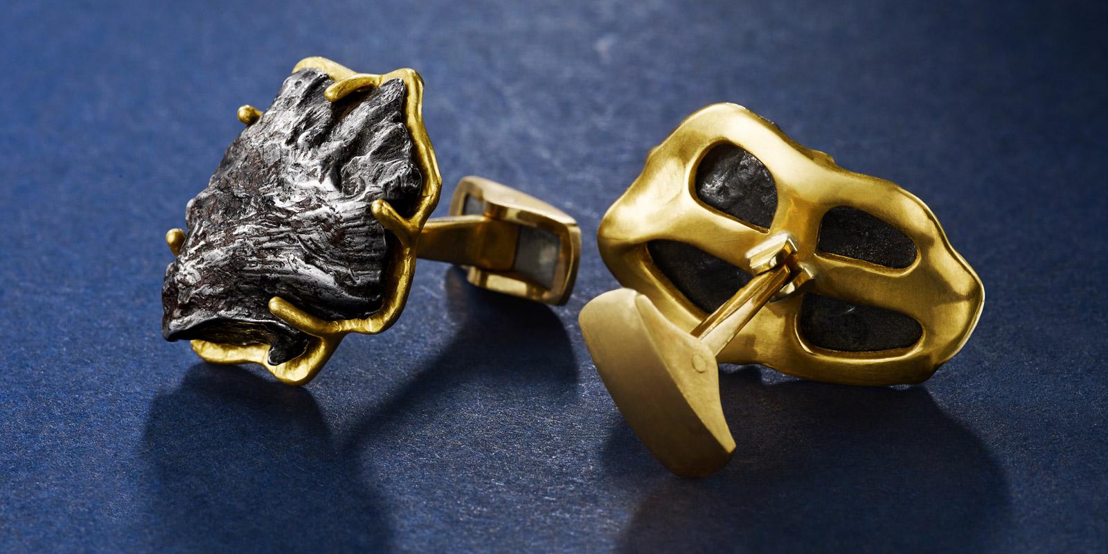 22 karat gold and meteorites