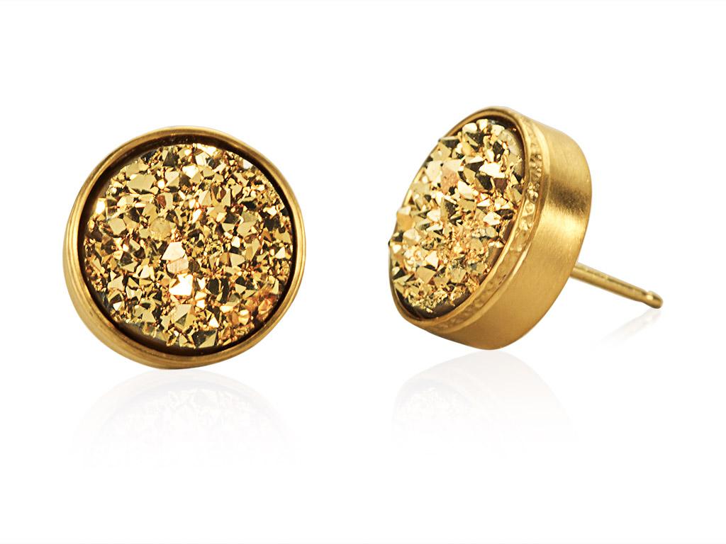 Gold dryzy circles