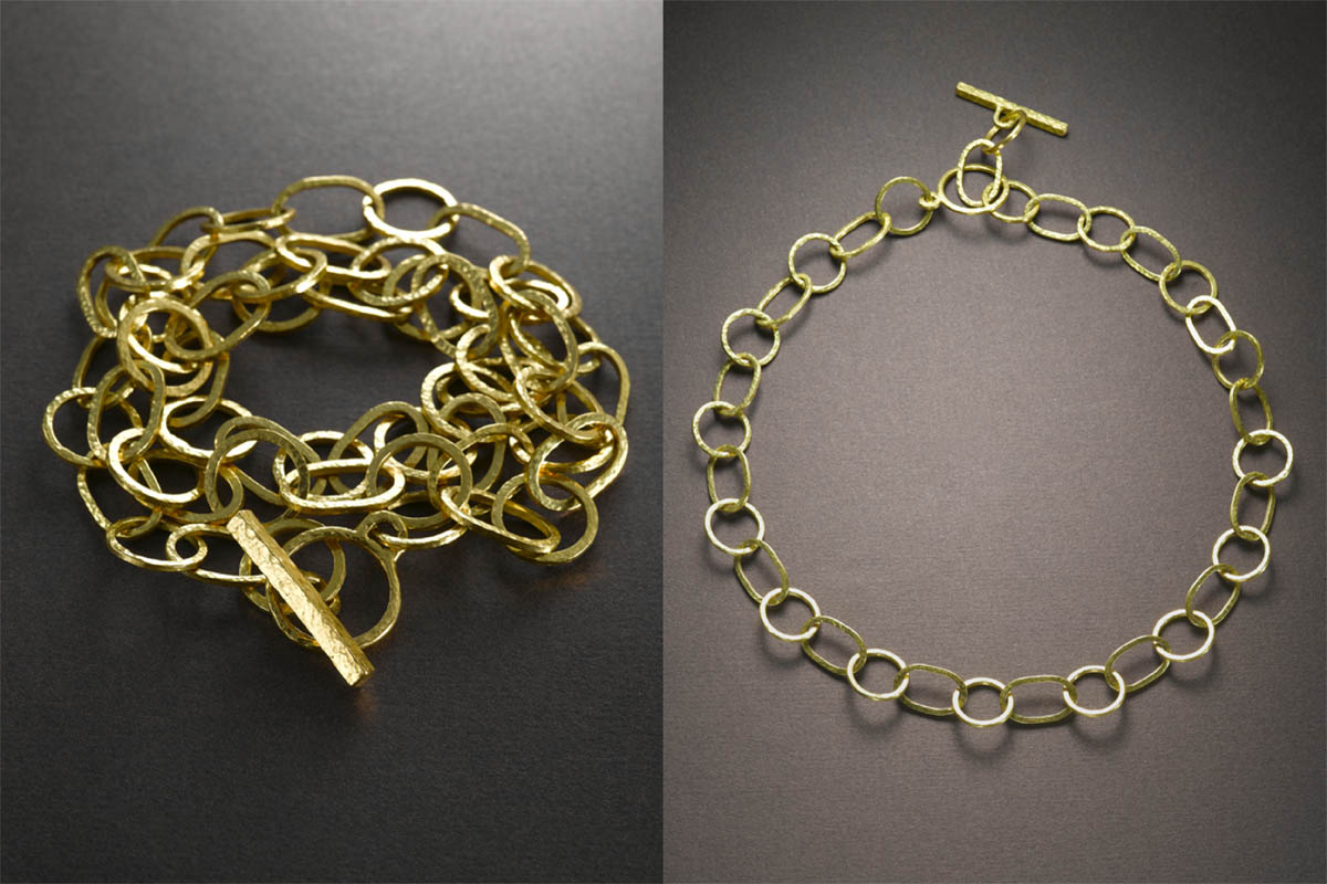 22 karat gold necklace / bracelet.