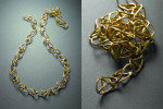 22 karat gold necklace.
