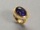22 karat gold, Tanzanite and diamonds