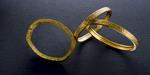 RACHEL bracelet. Custom sized in 22 karat gold