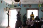 A secret meeting between anti blaka leaders in a house in Bangui.