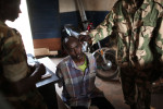 A man suspected of being a selaka is being held by centrafrivcan gendarmerie at PK12.