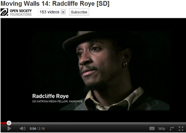 Moving Walls 14: Radcliffe Roye