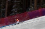 Carlo Janka, SUI, skis down the Golden Eagle run while competing in the men's downhill event  during the 2009 FIS Ski World Cup, Birds of Prey in Beaver Creek, Colo., Friday, Dec. 4, 2009. Janka went on to win the gold medal.
