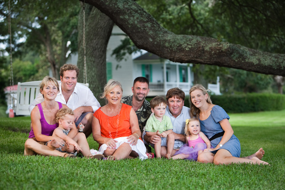 Rockville, SC, family photo session.