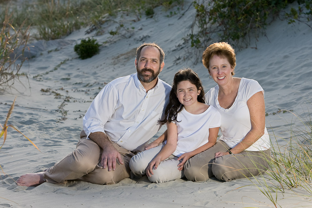 Sullivan's Island beach photography session.