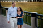 Photo session at Waterfront Park in Charleston, South Carolina.