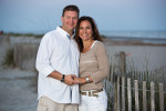 Isle of Palms beach photography session.  Wild Dunes section of the beach for their beach photo session.