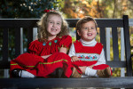 Family photography in Old Village of Mt. Pleasant, SC.