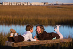 Pitt Street Bridge family photo session in Mt. Pleasant, SC.
