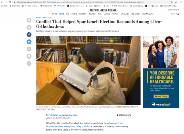 Wall Street Journal, January 2019