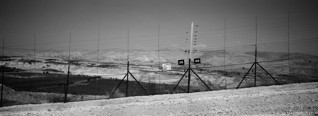 The Israeli Jodan border,