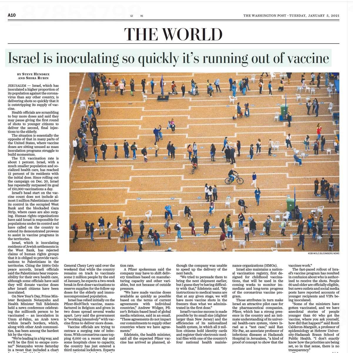 The Washington post, January 2021