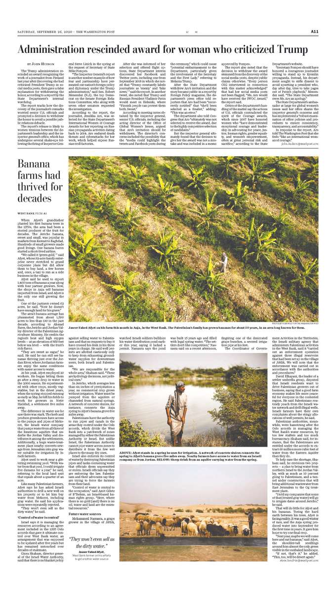 The Washington Post, September 2020