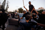 Far right jewish attack arabs and take him out from his car during  a demo against the Israeli Arab in the city of Ramla in Ramla Israel on May 11 2021 photographer: Kobi Wolf