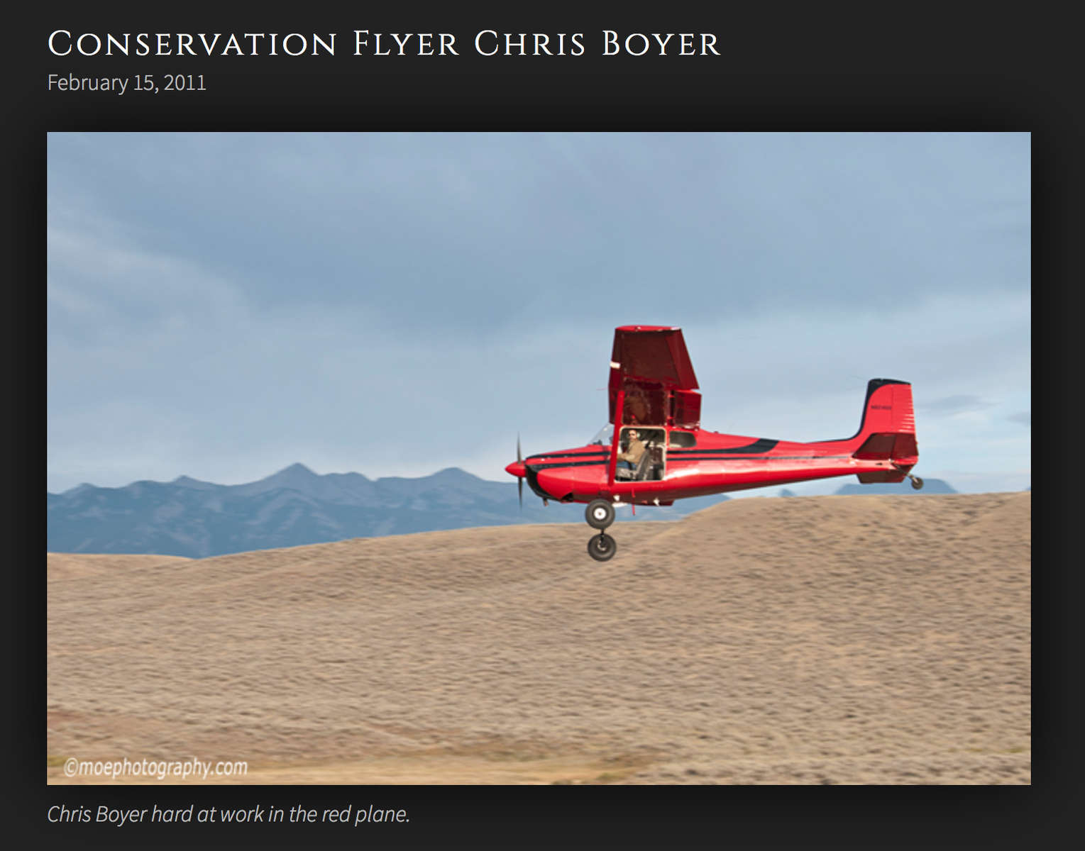 A post about my work on photographer Dave Showalter's blog, Western Wild.
