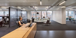 Internal office fit-out of new London headquarters of International Architecture firm.Clinet / Interior Design: Perkins + Will