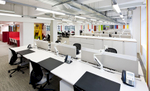 Internal refurbishment of disused building into spacious open plan offices.Client: Network Rail