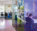 Internal office refurbishment for London base of UK children's charity.Client / Interior Design: Watkins Gray International