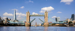 London's iconic bridge still opens 850 times a year, 130 years after construction. This image is The Tower's official current bridge lift image used in many mediaClient: Baizdon / City of London Corporation