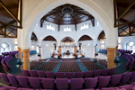Reconversion of mixed use venue back into church with contemporary extension and linksClient: Paul Davis & Partners