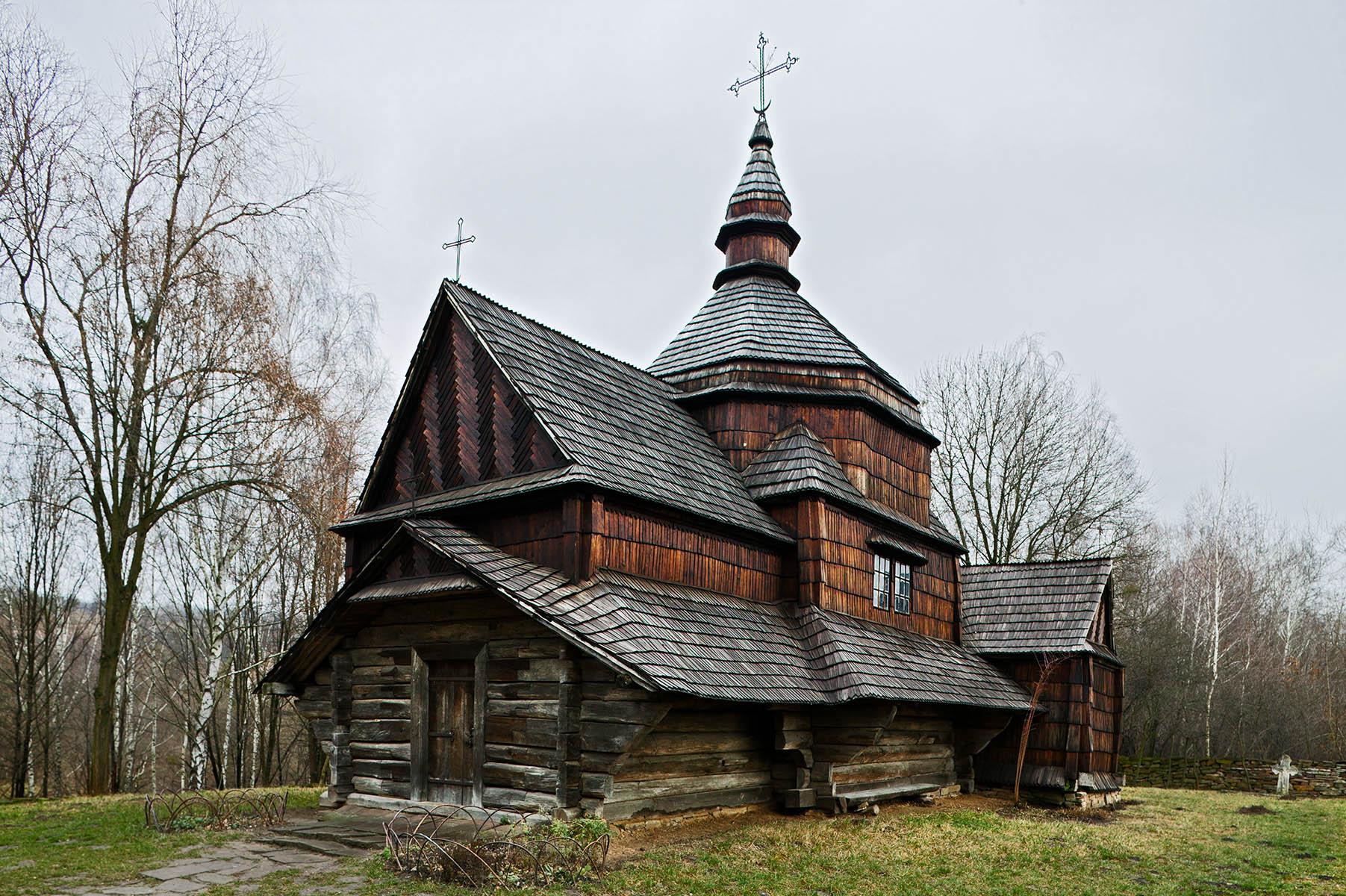 Traditional Church - Pirogovo, Ukraine
