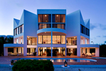 Super-prime new build villa 'Russian Amathyst', designed by Myron Goldfinger on coast of Anguilla.Client: Telegraph Group
