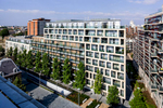 Large scale high-end residential new build project forming part of major masterplan Client: EPR Architects