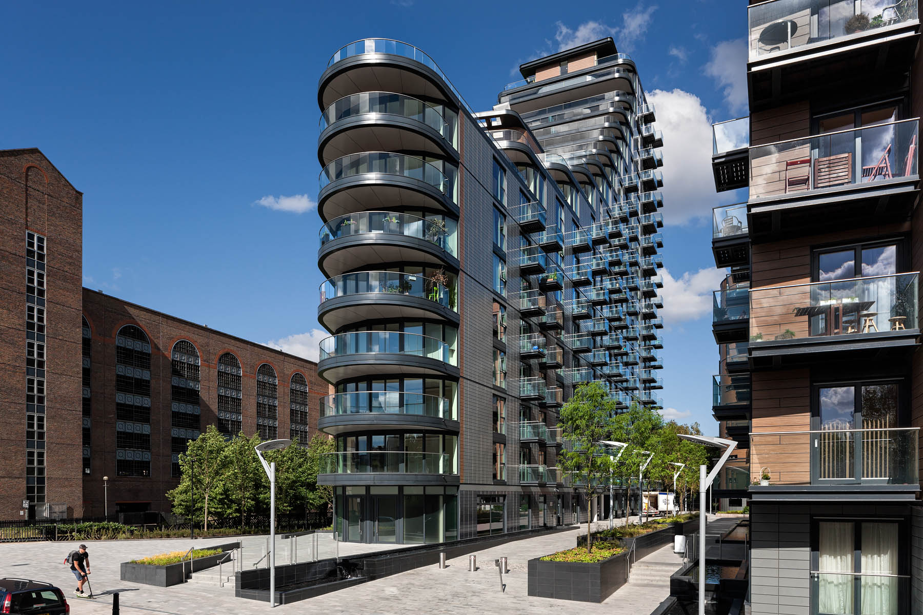 Part of large scale Residential New Build scheme of 379 units.Client: Paul Davis + Partners