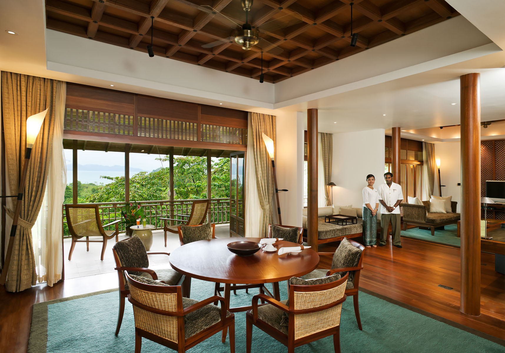 Luxury boutique spa hotel in forest of Langkawi IslandClient: Tourism Malaysia