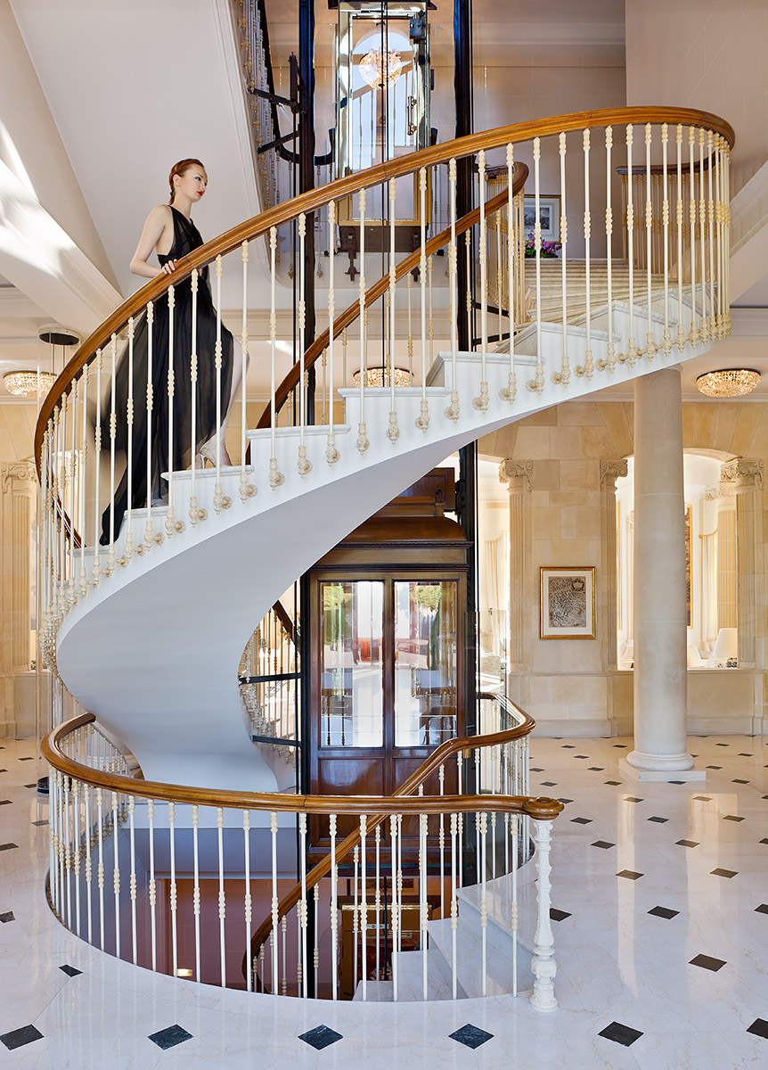 1869 built creative retreat transformed shortly after into iconic boutique hotel favoured by leading Actors and Politicians.Client: Telegraph Group / Eden Roc