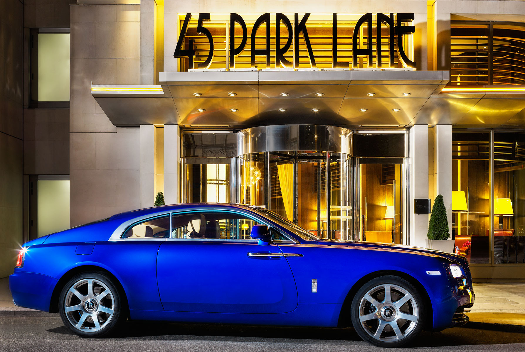 Rolls Royce Wraith promotion with Penthouse Suite at Iconic London luxury hotelClients: Dorchester Group / Rolls Royce