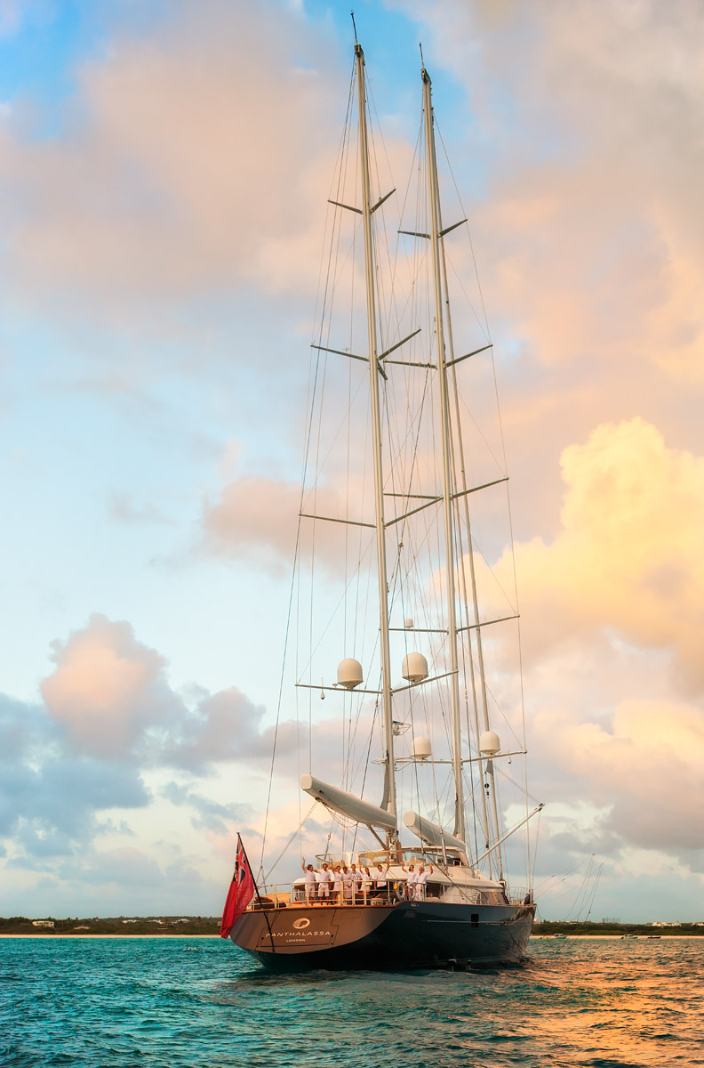 conic Double masted Super-Yacht designed by Perini Navi and Foster + PartnersClient: Telegraph Group