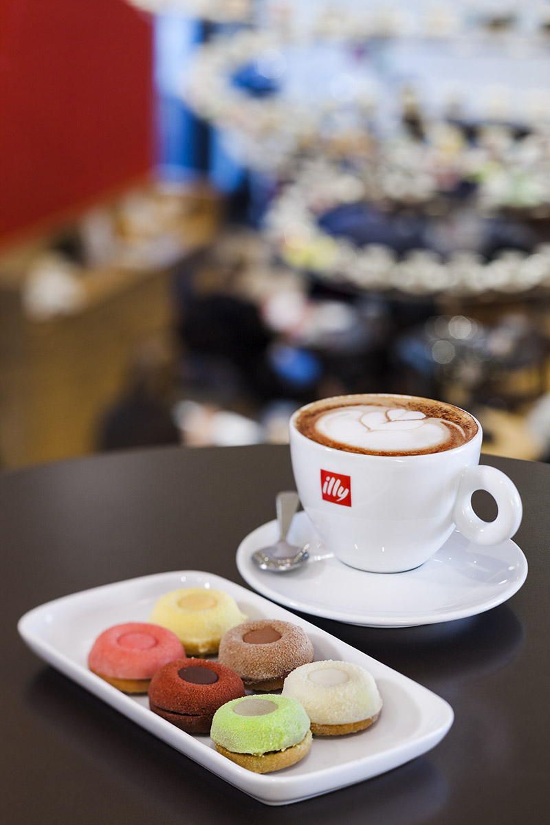 New restaurant / coffee bar concept for IllyClient: Illy / Vann Communications