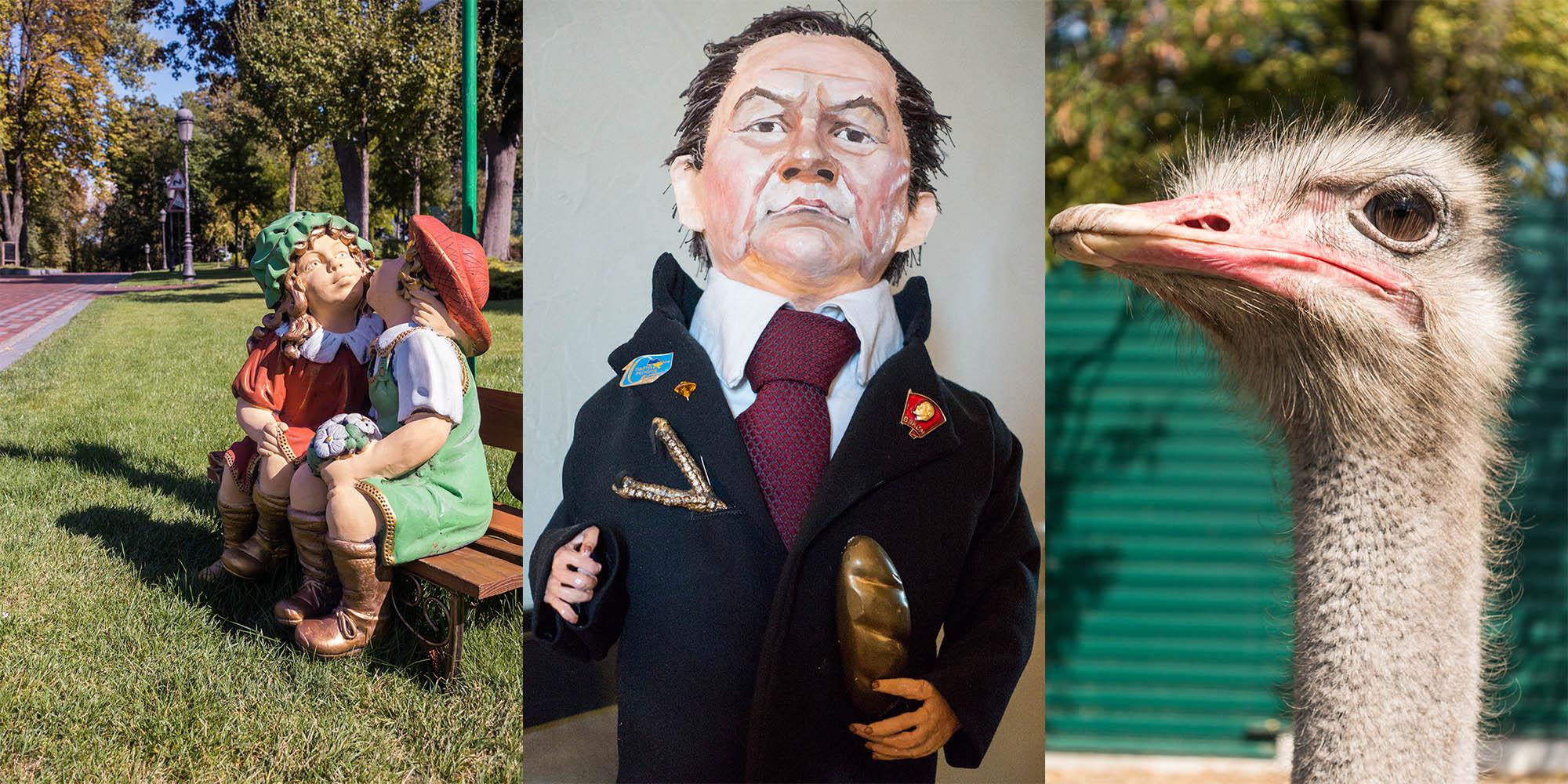 Kiss, Yanukovych, Ostrich
