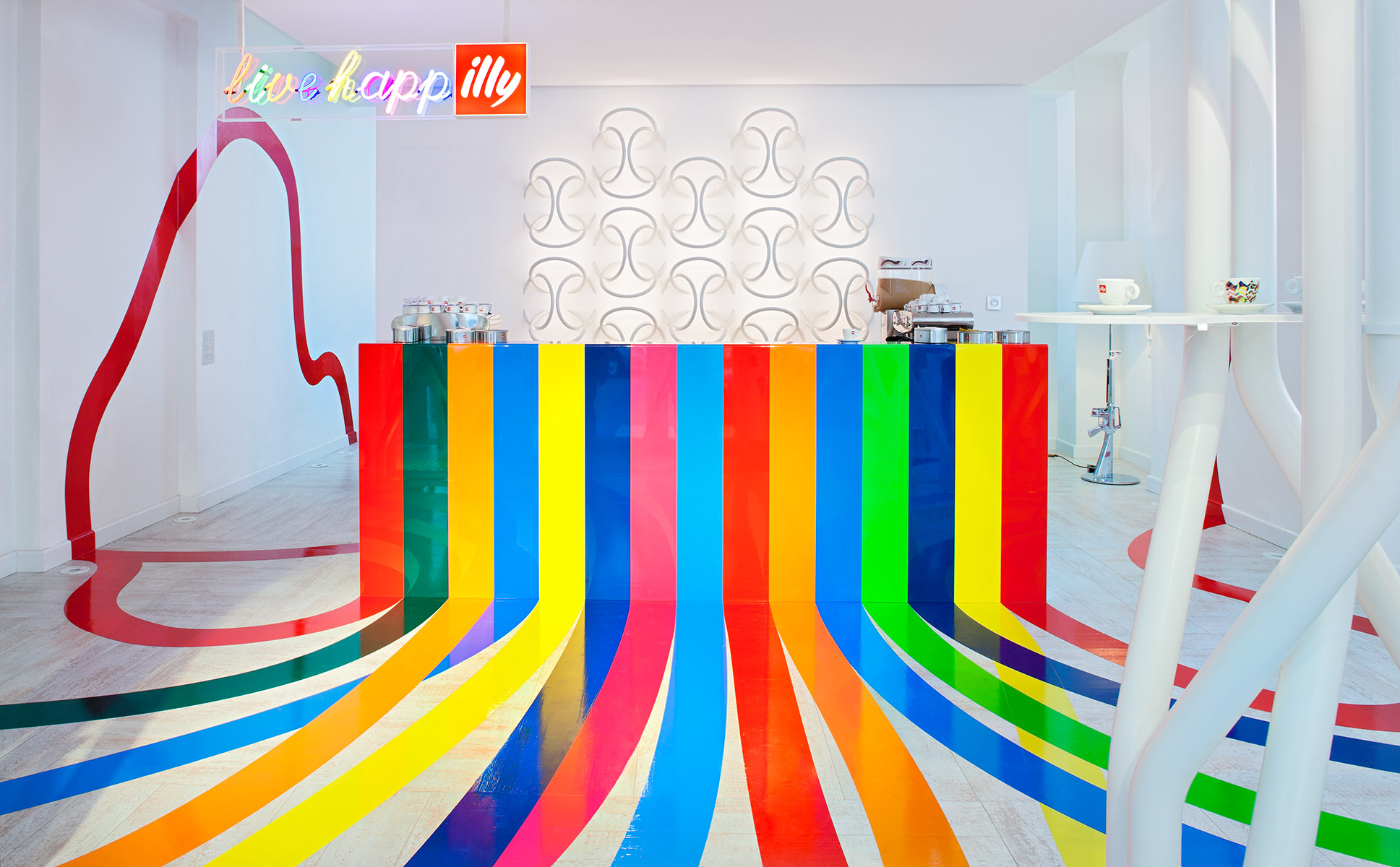 Collaboration of Italian designClient: Illy / Vann Communications
