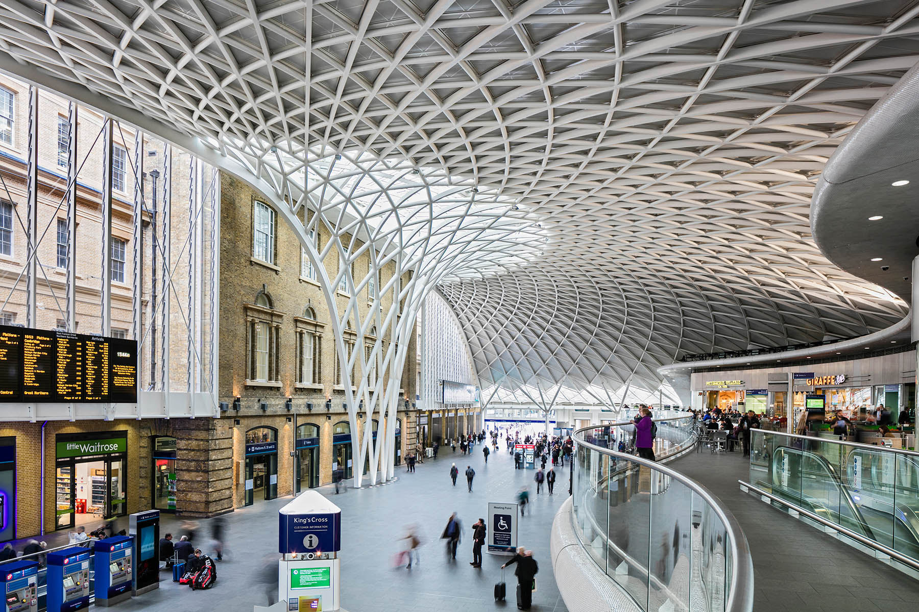 John McAslan and Partners' retail expansion of London's iconic train station.Client: Network Rail