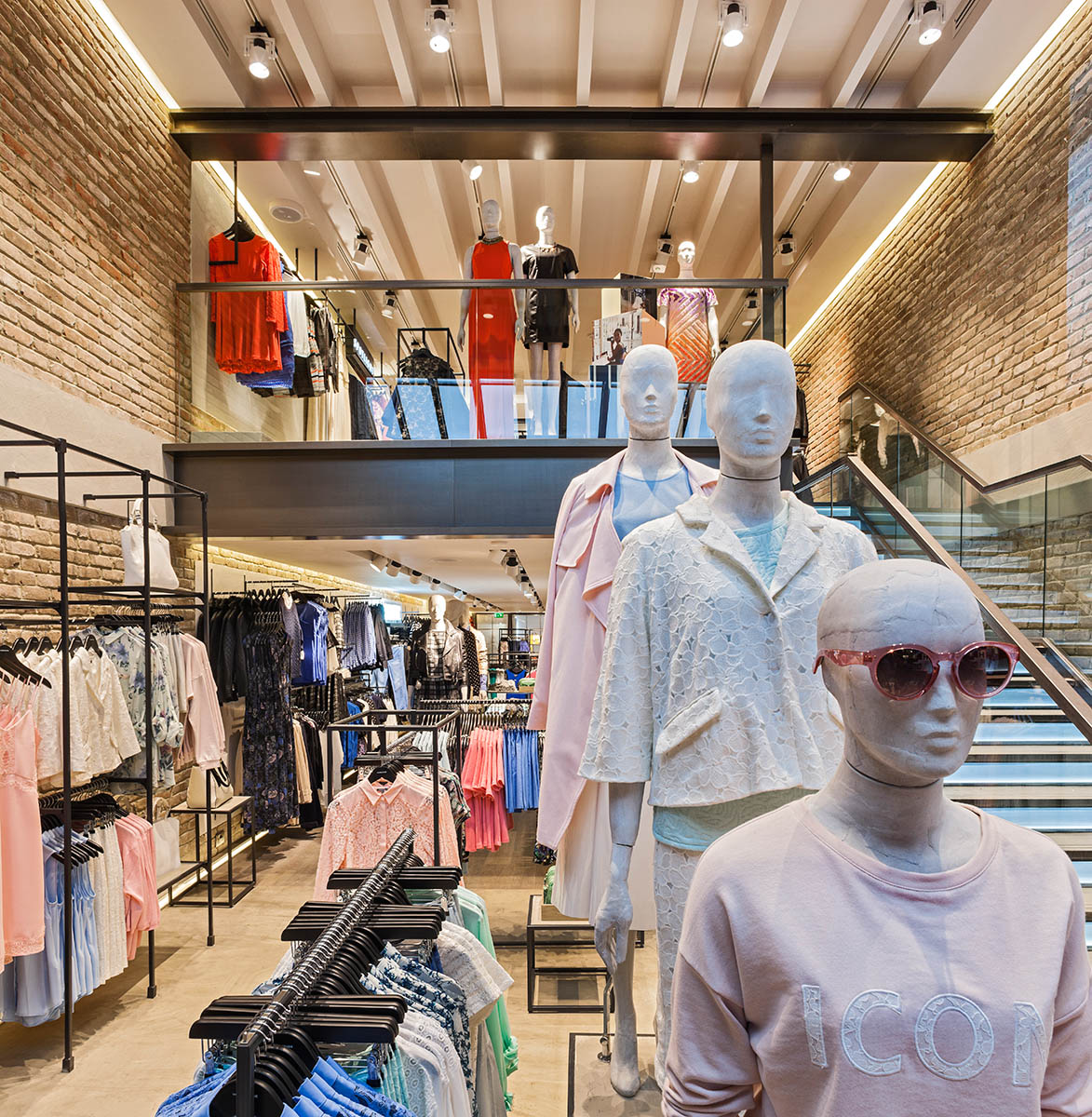 Retail design concept for Warehouses flagship store in London's west end.Client: Brown Studio
